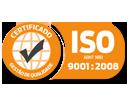 Certificado Selo ISO 9001
